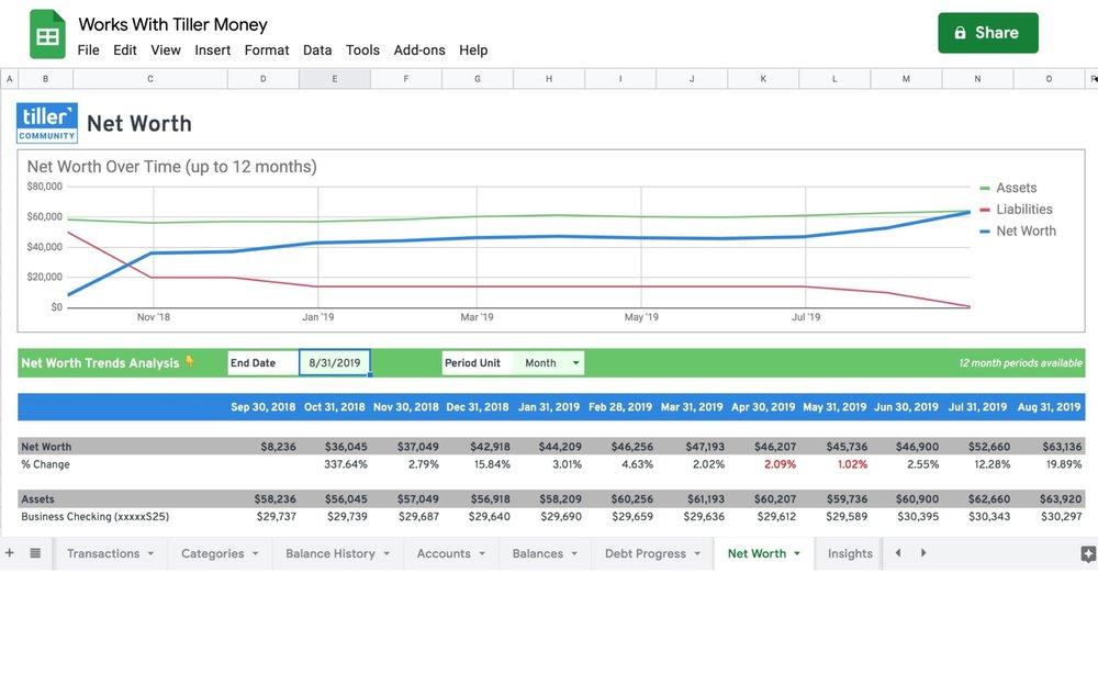 retirement planner spreadsheet