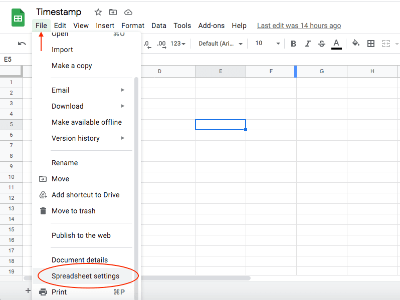 Convert Currency in Google Sheets